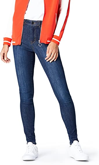 Amazon Brand find. Women's Skinny Mid Rise Jeans