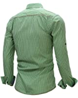 B dressy New Arrival Men's shirt Long Sleeve Plaid Shirts Mens Dress Shirt Brand Casual Shirts 106
