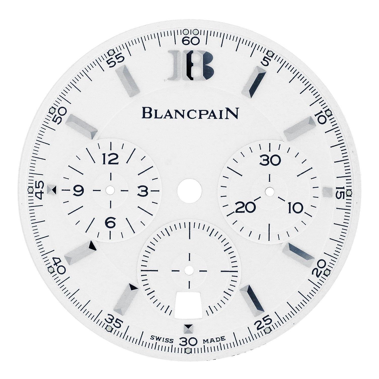 Blancpain Leman Chronograph Flyback 2185–1127–11 30 mm Zifferblatt fÜr 38 mm Armbanduhr