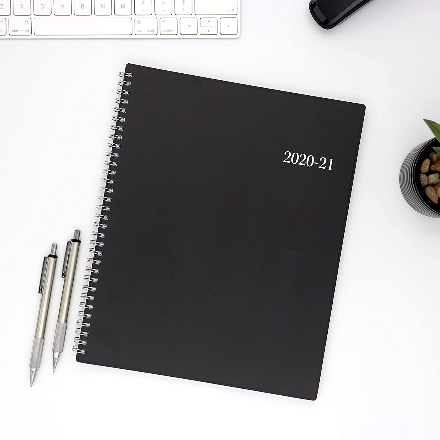 """Blue Sky 2020-2021 Academic Year Weekly & Monthly Planner, Flexible Cover, Twin-Wire Binding, 8.5"""" x 11"""", Enterprise (118062) : Office Products"""