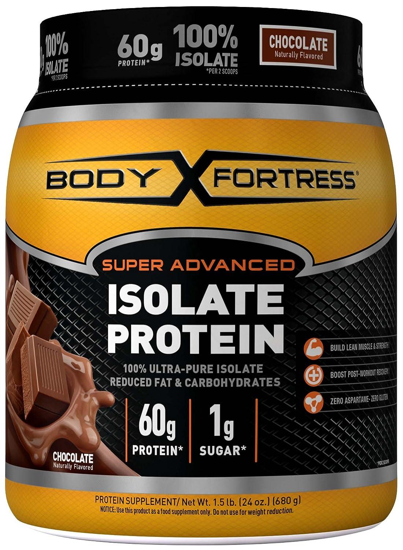 Amazon.com: Body Fortress Super Advanced 100% Protein Isolate ...