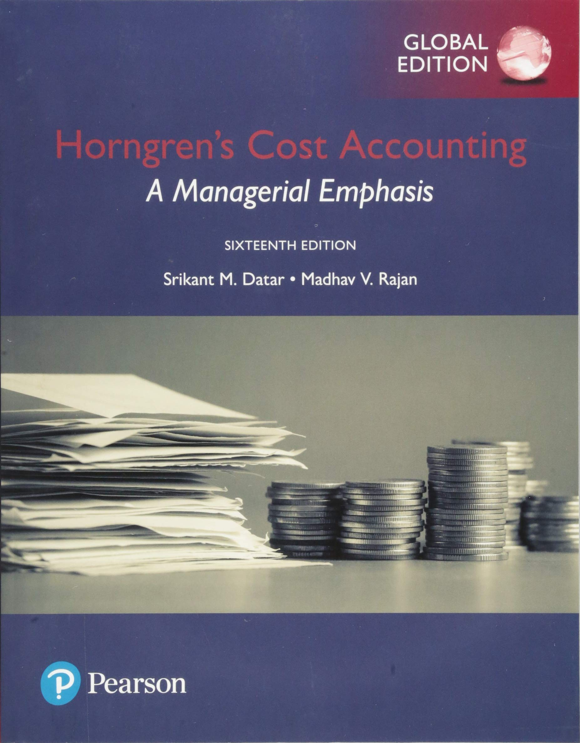 Horngren's Cost Accounting  A Managerial Emphasis Global Edition