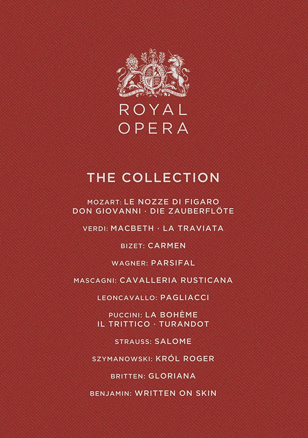 Blu-ray : MOZART - ORCHESTRA OF THE ROYAL OPERA HOUSE - Royal Opera Collection (Blu-ray)