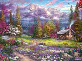 product image for Buffalo Games - Chuck Pinson Escapes - Inspirations of Spring - 1000 Piece Jigsaw Puzzle