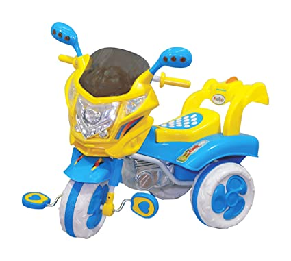 24c33a67341 eHomeKart Plastic Funride Comet Bike with LED Lights and Music for Kids