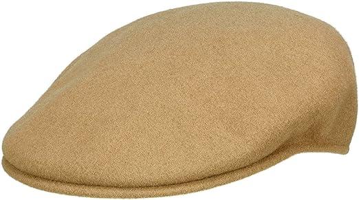 Kangol Wool 504 - Gorra plana para hombre - beige: Amazon.es: Ropa ...