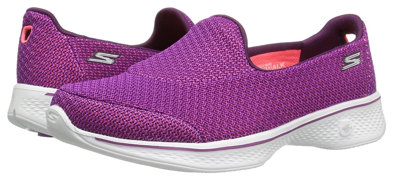 Skechers Performance Women's Go Walk 4 Majestic Walking Shoe B01IIZCTUW 13 B(M) US|Purple