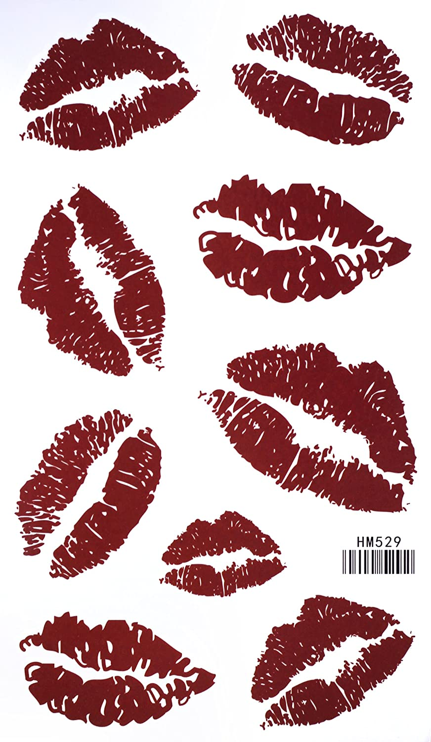 Amazon Com Red Lip Temporary Tattoo Stickers Sexy Tattoos Waterproof Tattoo Stickers Body Paint Makeup Beauty Free for commercial use no attribution required high quality images. red lip temporary tattoo stickers sexy tattoos waterproof tattoo stickers