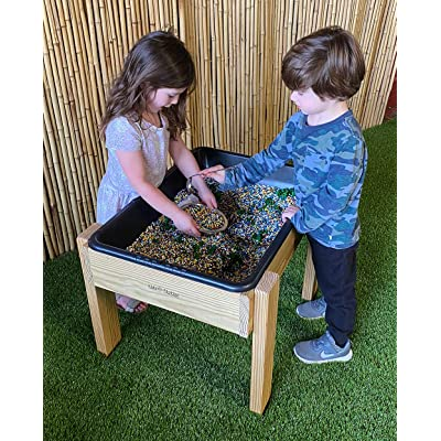 Kids' Station Outdoor Sand/Water Table W/Drain: Toys & Games