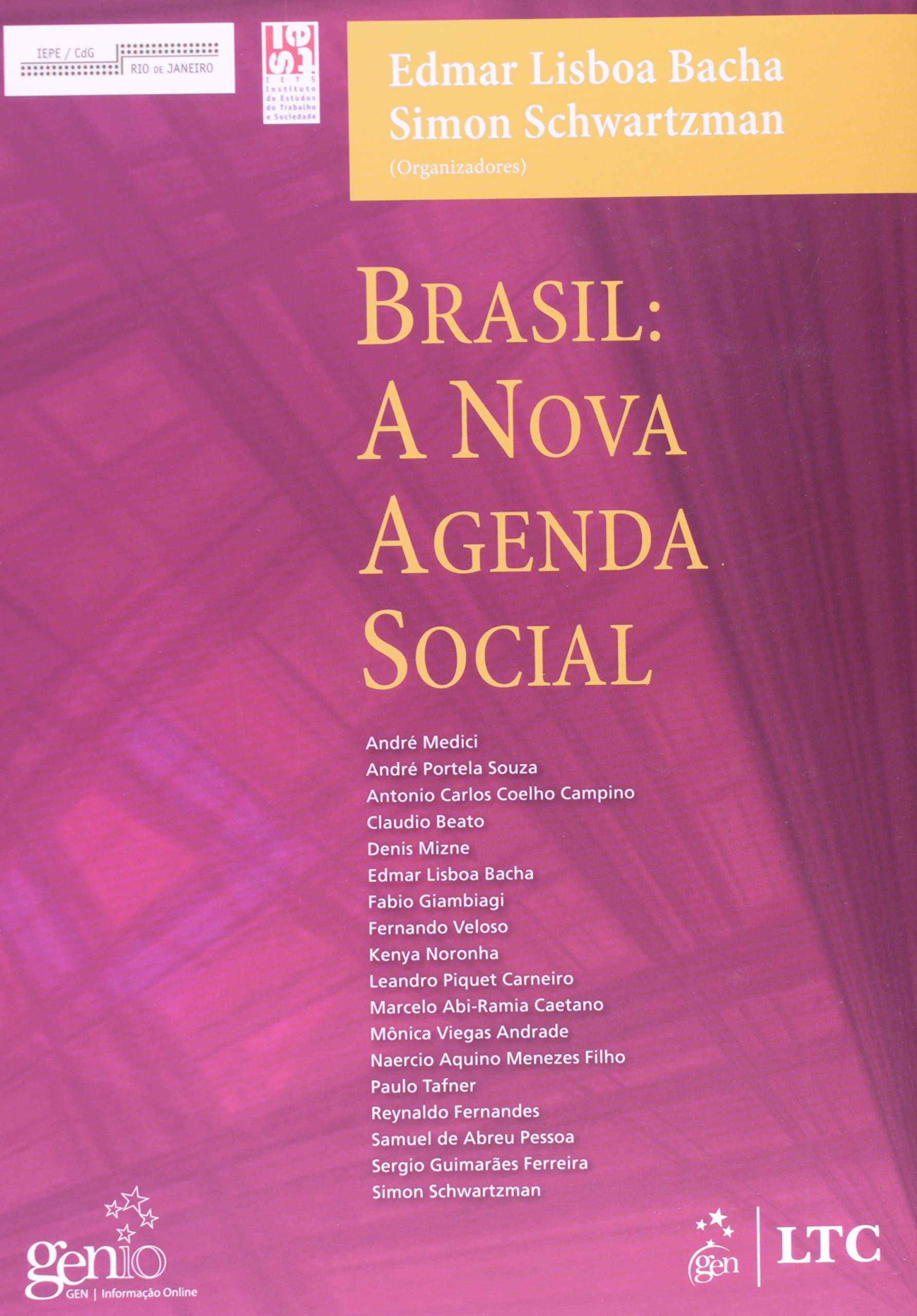 Brasil. A Nova Agenda Social (Em Portuguese do Brasil ...