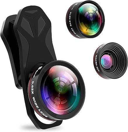 Selvim 3 In 1 Handy Kameraobjektiv Set 25 Faches Kamera