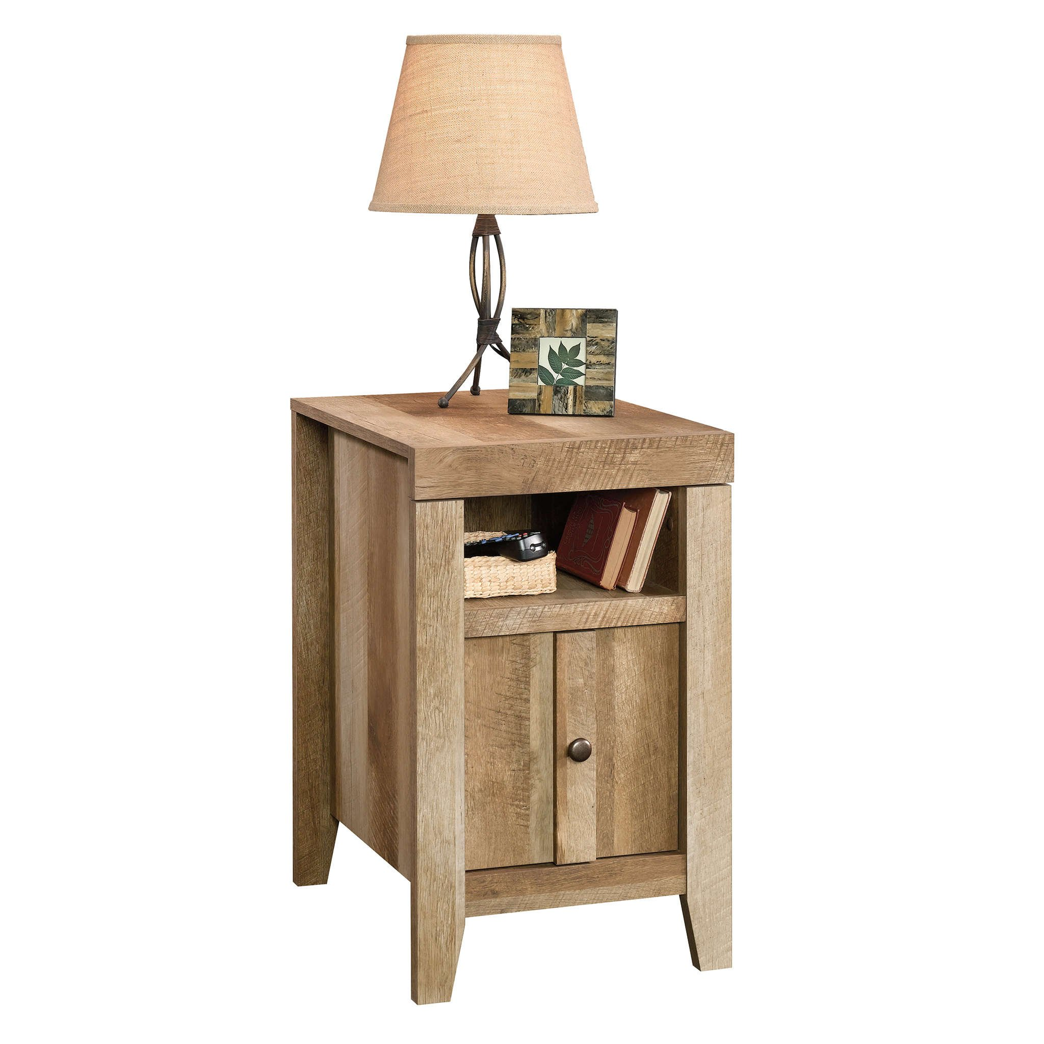 Sauder 420139 Side Table, Furniture, Craftsman Oak