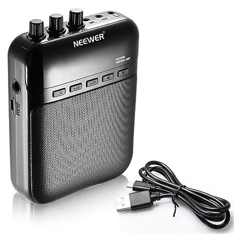 Neewer® NW-03M 5W dados electrónicos portátiles amplificadores de guitarra, grabadora, altavoz