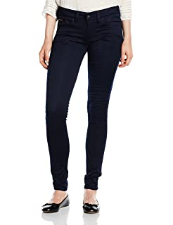 Tommy Jeans Hilfiger Denim Mid Rise Sandy Straight-Vaqueros Mujer