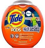 Detergente en cápsulas Tide PODS Plus Febreze, para ropa Sport, aroma fresco activo, 54 unidades