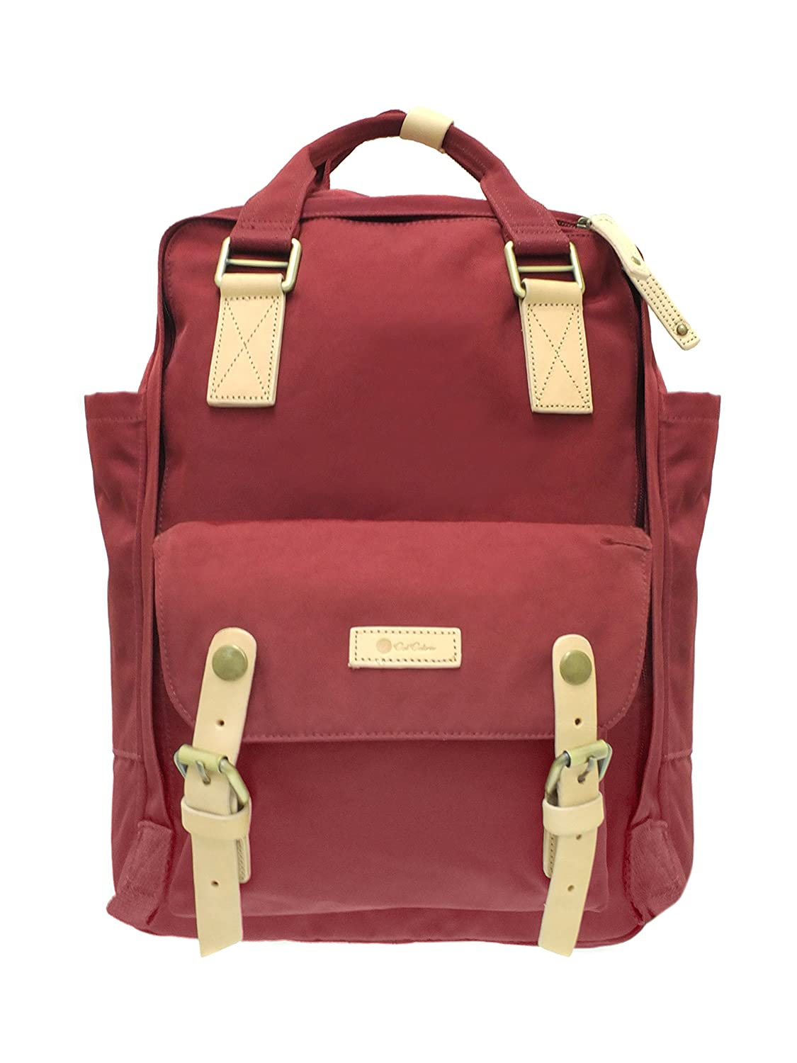 CalLife Stylish Solid Color Women Backpack for School 5b283d8f25248