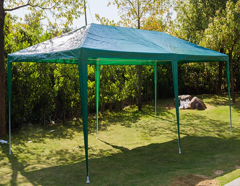 SiKy Toldo de 3 x 6 m, Resistente al Agua, Resistente al Sol, con Paredes Laterales extraíbles, Color Blanco: Amazon.es: Jardín