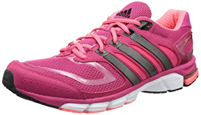 adidas Performance Women s Response Cushion 22 Pink Grey Running Shoes ... a31a7d57f