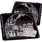 Anzo USA 121139 Toyota Tacoma Jdm Black Headlight Assembly - (Sold in Pairs)