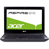 Acer Aspire One 521 Panthera 25,6 cm (10,1 Zoll) Netbook (AMD Athlon II Neo K125, 1,7GHz, 1GB RAM, 250GB HDD, ATI HD4225, Bluetooth, Win 7 Starter)