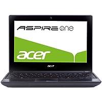 Acer Aspire One 521 Panthera 25,6 cm (10,1 Zoll) Netbook (AMD Athlon II Neo K125, 1,7GHz, 1GB RAM, 250GB HDD, ATI HD4225, Bluetooth, Win 7 Starter)