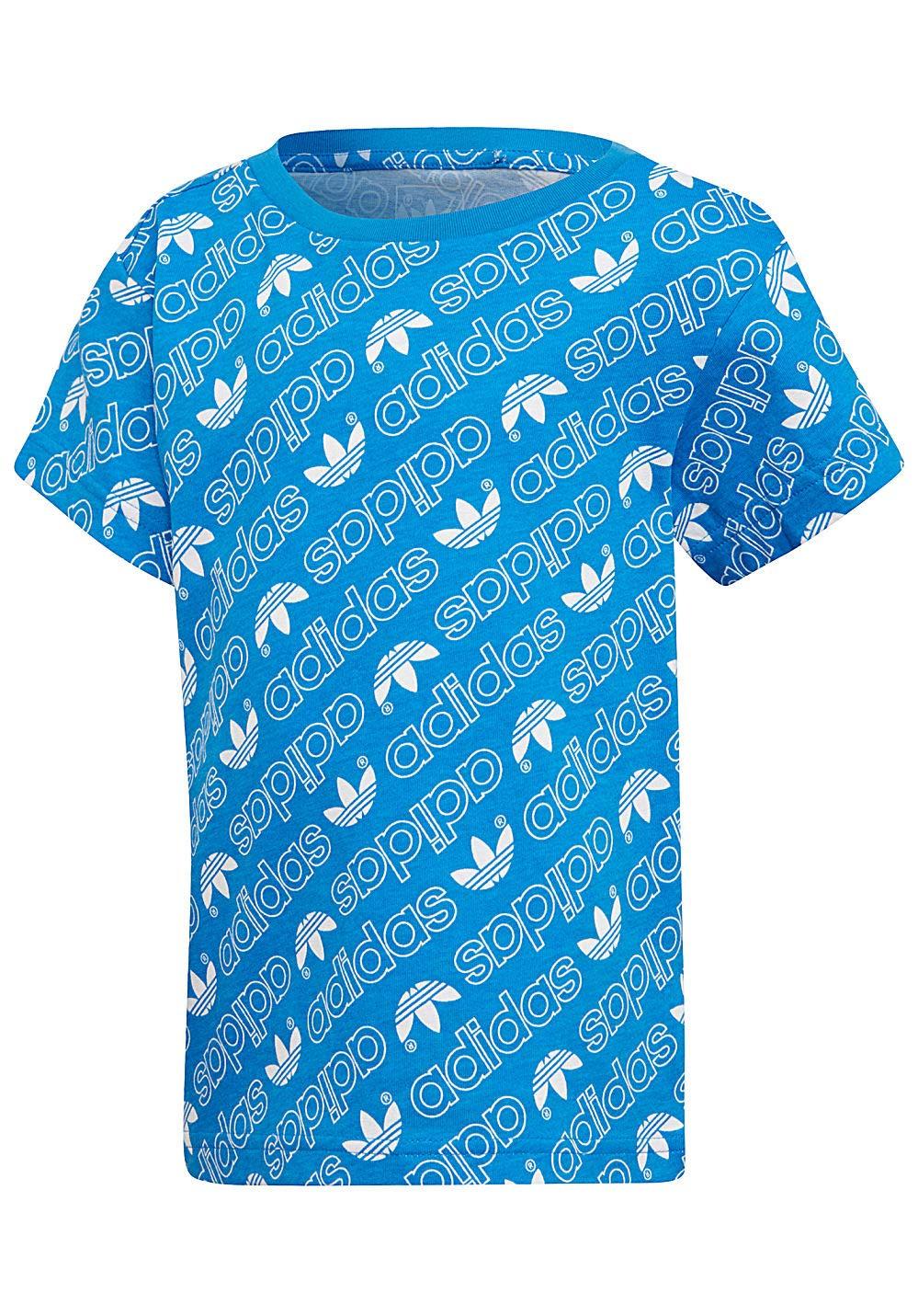 adidas Children's Trefoil Monogram T-Shirt DN8158