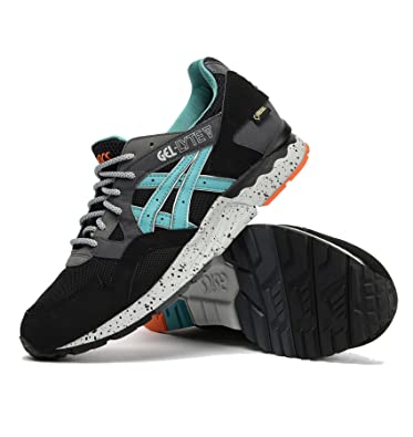 ASICS Zapatillas para Hombre Gel Lyte V, Gore-Tex h429y 9089, Negro
