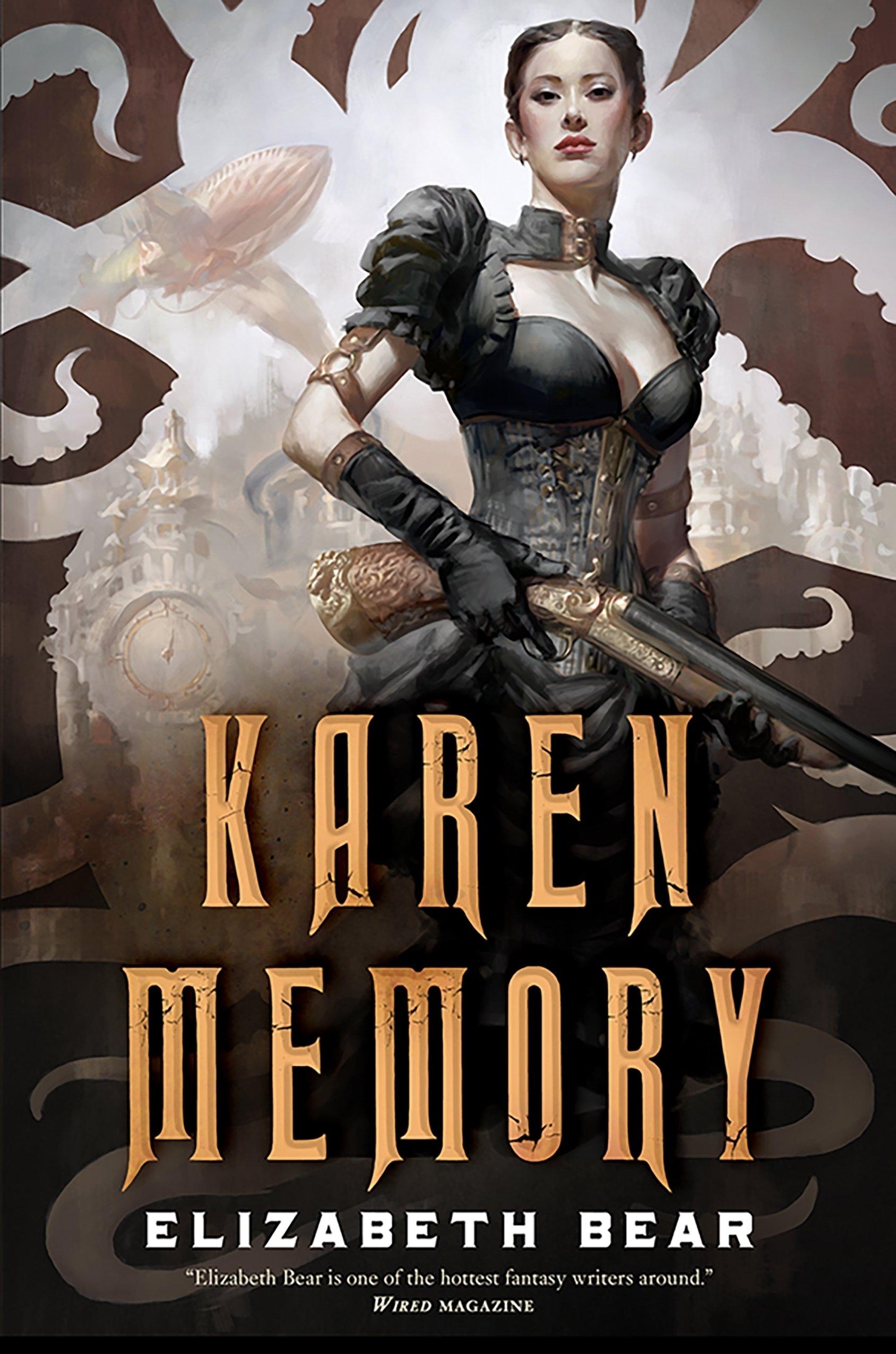 Image result for book cover karen memory elizabeth bear