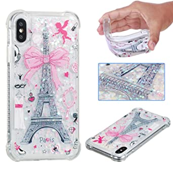 Review iPhone XS Glitter Case,