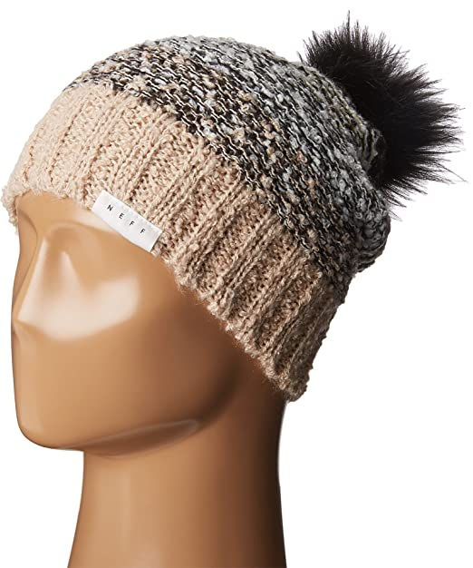 04ff2ee151b NEFF Women s Jana Beanie Cream One Size at Amazon Women s Clothing ...