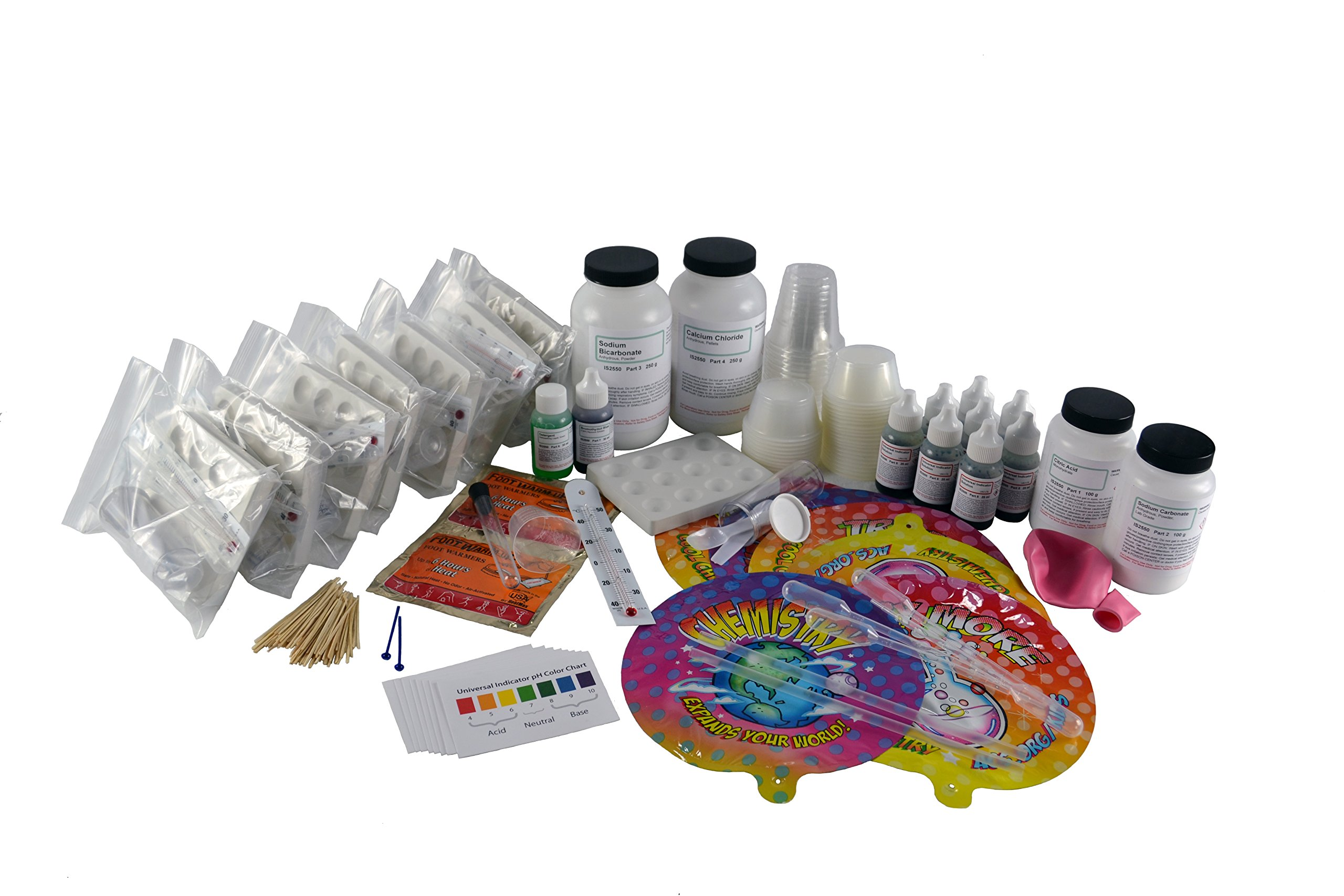 Innovating Science American Chemical Society Chemistry Activity Kit: Investigating Your World (Supplies for 8 Groups)