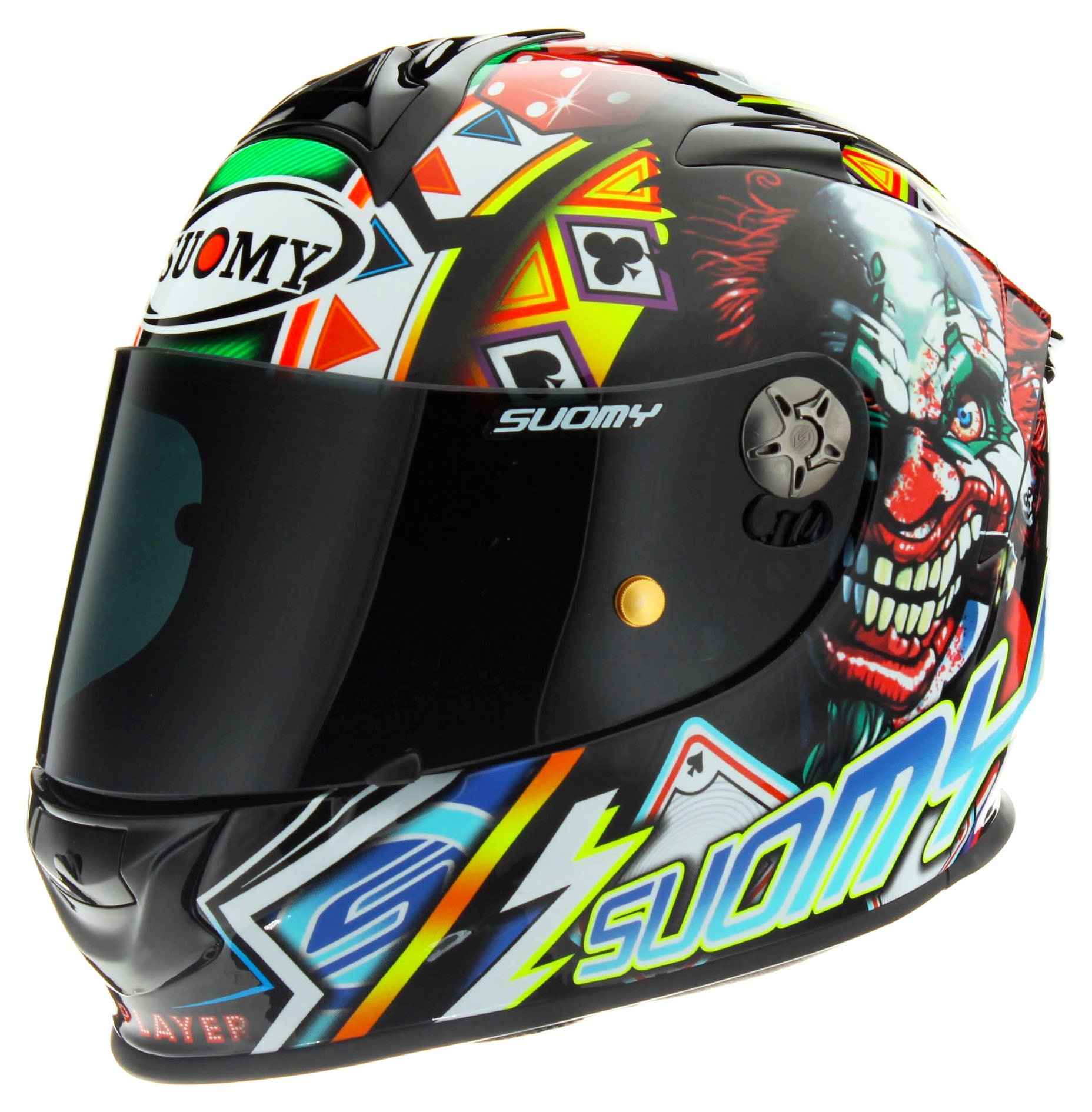 Suomy SR Sport Dovi Blue Helmet size Medium