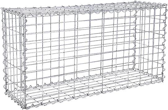 100 x 50 x 30 cm Gabione Steingabionen Steinkorb Mauer Säulen 5x10 Maschenweite