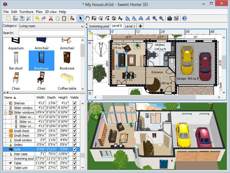 . Amazon com  Sweet Home 3D  Download   Software