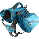 Kurgo Dog Saddlebag Backpack | Back Pack Dog Harness | Hiking Pack for Dogs | Packs for Pets to Wear | Camping & Travel…