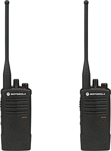 Motorola RDU4100 RDX Business 2-Way UHF Professional Two Way Radio 2-Pack
