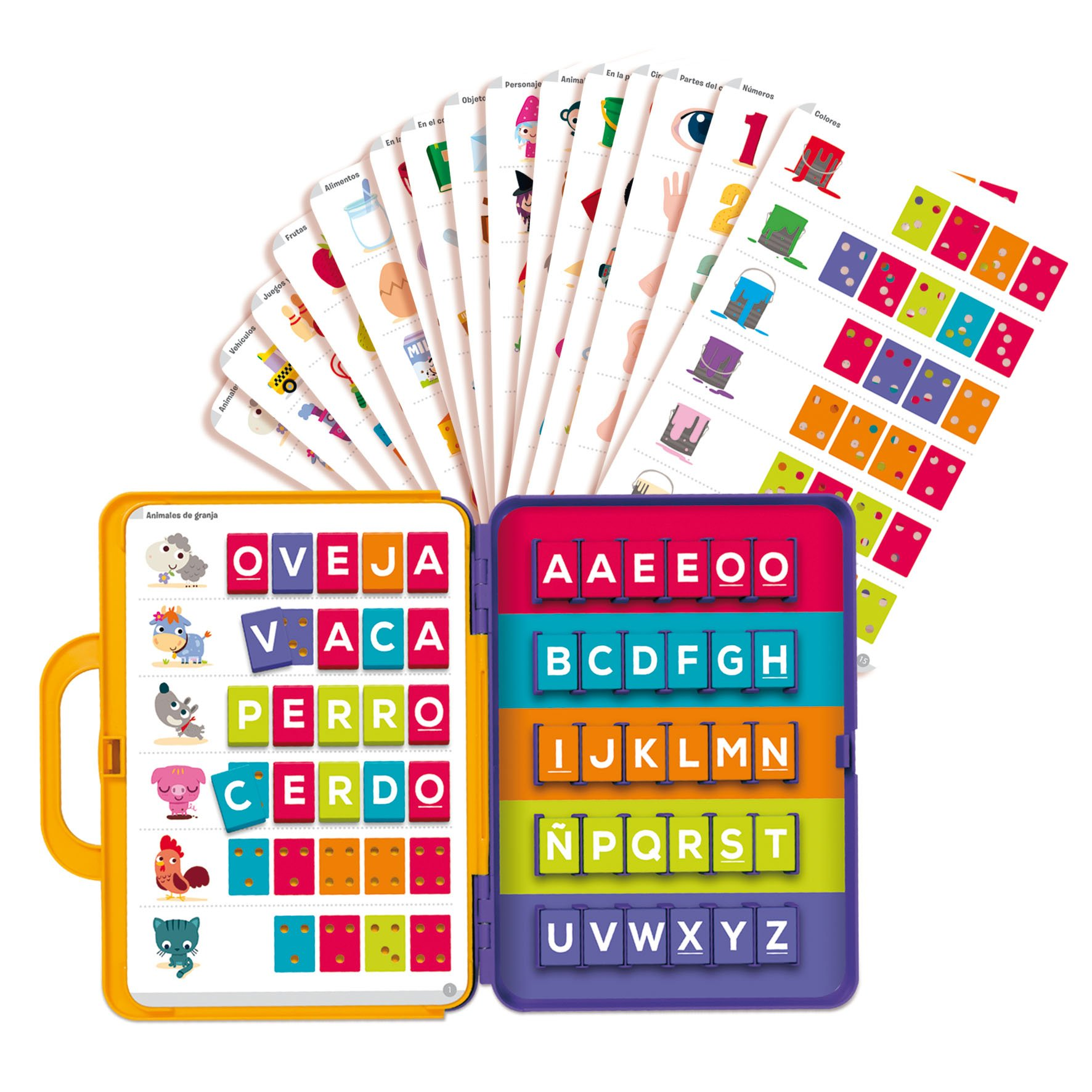 Diset 63752 - Spanish Learn to Read Set, Briefcase, Educational (63715) Educational Toy from 4 Years