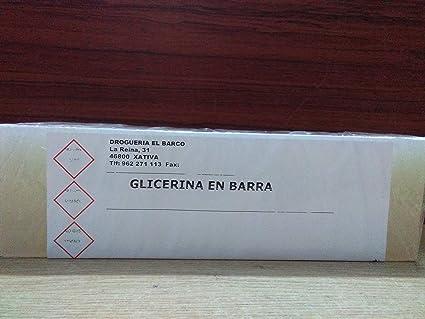 Glicerina en Barra para Base de Jabon 1,2 Kg: Amazon.es ...