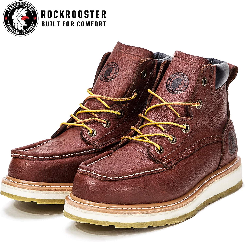 Rockrooster AP360 - Botas de Trabajo para Hombre (15,2 cm, Suela ...