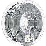 Polymaker PolyLite PLA 3D Printer Filament, 3D Printing Filament, 1.75mm pla - 1Kg Spool (2.2 lbs) True Grey, fit Most FDM Pr