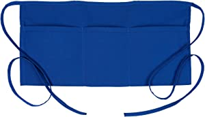 Fame Original 3 Pocket Waist Apron 18122 for Adults in Royal Blue - One Size Fits Most - Unisex (F9-83479)