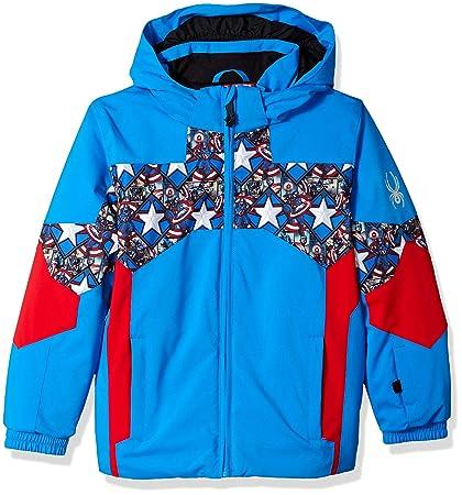 Amazon.com   Spyder Active Sports Boy s Mini Marvel Ambush Jacket ... 3df48f876046