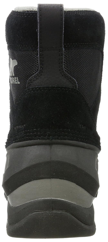 Sorel Schwarz/Grau Herren Buxton Lace Boots Schwarz/Grau Sorel (Quarry) b76feb