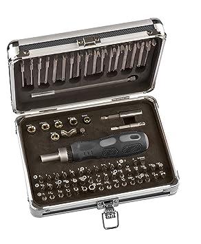 kwb 106800 63pieza(s) punta de destornillador - Puntas de destornillador (63 pieza(s), Phillips, Pozidriv, Ranura, Torq-Set, Torx, Tri-Wing, 2, 4, 6.5 ...