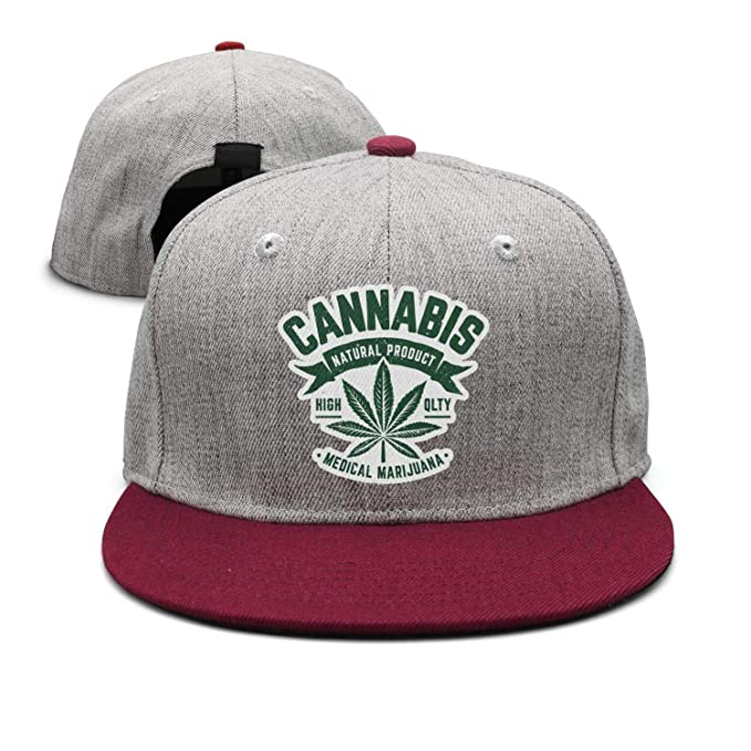8bccd5e2e0aa7 Amazon.com  Green Cannabis Pharmacology unisex hiking Hip-Hop Hat ...