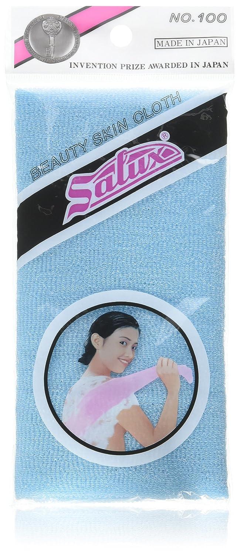 Salux Nylon Japanese Beauty Skin Bath Wash Cloth/towel (3) Blue No. 100 - Blue