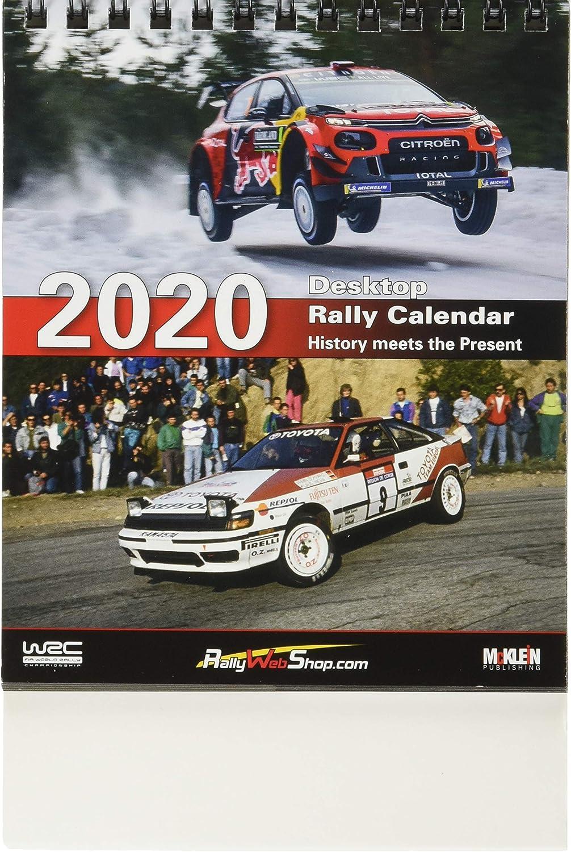 Desktop Rally Calendar 2020: Amazon.es: Oficina y papelería