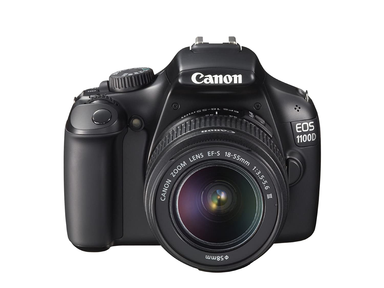 Amazon.com : Canon EOS 1100D DSLR Camera and 18-55mm IS II Lens Kit (Black)  : Camera & Photo
