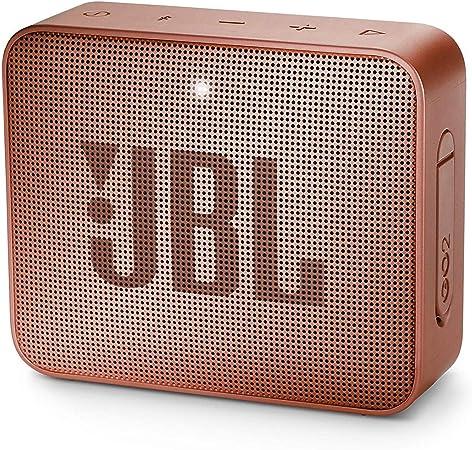 Jbl Go 2 Kleine Musikbox In Dunkelrosa Wasserfester Portabler Bluetooth Lautsprecher Mit Freisprechfunktion Bis Zu 5 Stunden Musikgenuss Mit Nur Einer Akku Ladung Audio Hifi