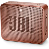 JBL GO 2 - Altavoz inalámbrico portátil con Bluetooth, resistente al agua (IPX7), hasta 5h de reproducción con sonido de…